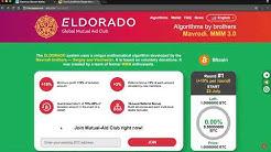 ELDORADO - Import Master key (xprv/yprv/zprv) in bitcoin wallet Electrum and Sign message
