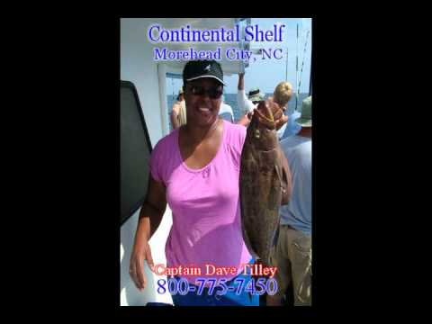 Offshore Fishing On The Continental Shelf In 2010 With Captain Dave Tilley
