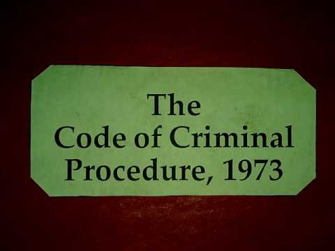 FIR AND COMPLAINT LAW CRPC