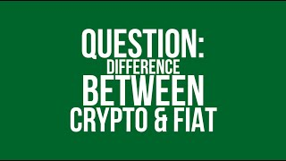 What Is The Difference Between Cryptocurrency And Fiat Currency? | BlockQuake Q&A
