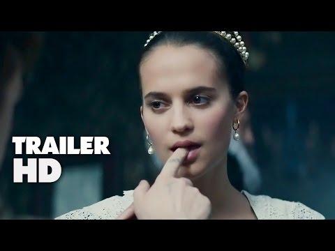 Tulip Fever - Official Film Trailer 2016 - Alicia Vikander, Dane DeHaan Movie HD