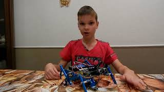 Робототехника. Makeblock Ultimate 2.0 Robot Kit. Робот муравей