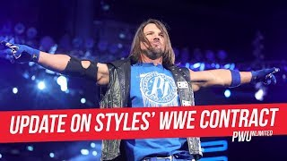 Update On AJ Styles WWE Contract Situation