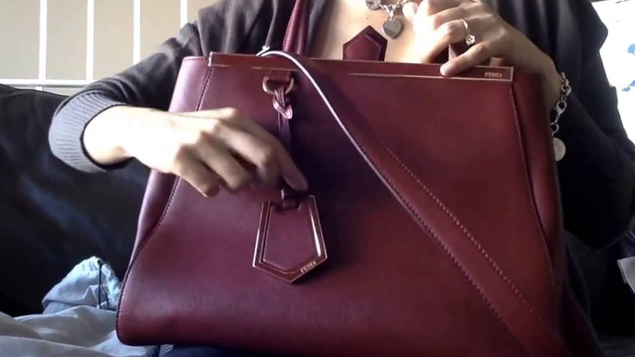 d43430a5db6 Review of the Fendi 2Jours Medium Shoping Tote Bag/ Purse - YouTube