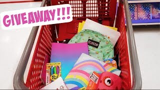 INSTAGRAM FOLLOWERS CONTROL MY BACK TO SCHOOL SHOPPING + GIVEAWAY!!!