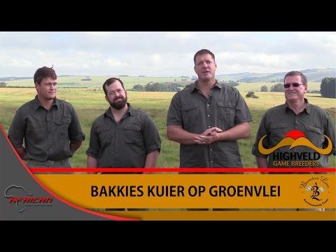 Bakkies Botha visits Groenvlei Game