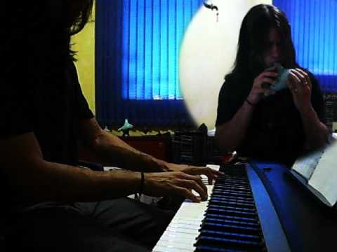 Hallelujah on Ocarina and Piano
