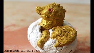 Cómo modelar un dragón bebé (escultura) - Narrado