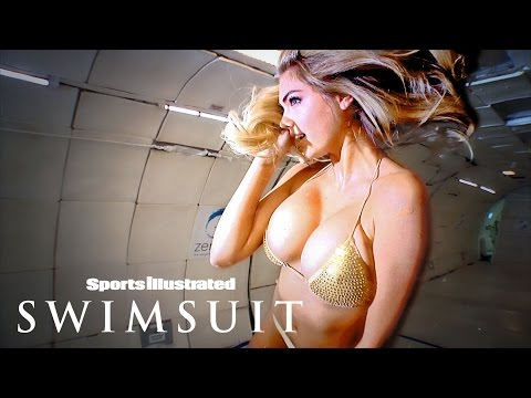 Kate Upton Floating In Zero Gravity | Intimates | Sports Illustrated Swimsuit