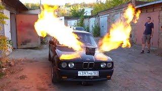 BMW con motor de avión
