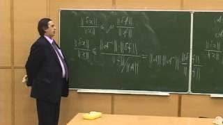 Лекция 6: Прямые и итерационные методы решения систем линейных алгебраических уравнений
