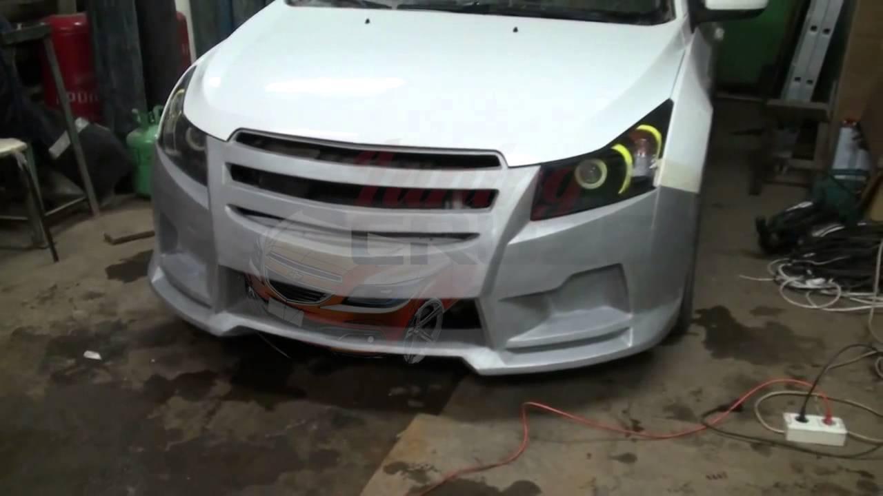 Chevrolet Lacetti 2. Как снять передний бампер. - YouTube