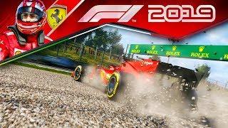 F1 2019 КАРЬЕРА - ЧУТЬ НЕ РАЗБИЛСЯ В ГОНКЕ #47