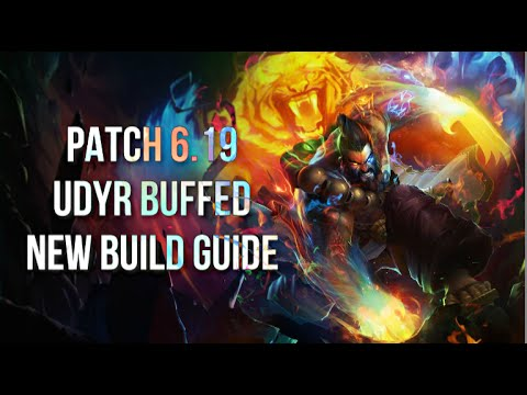Udyr Build Guide