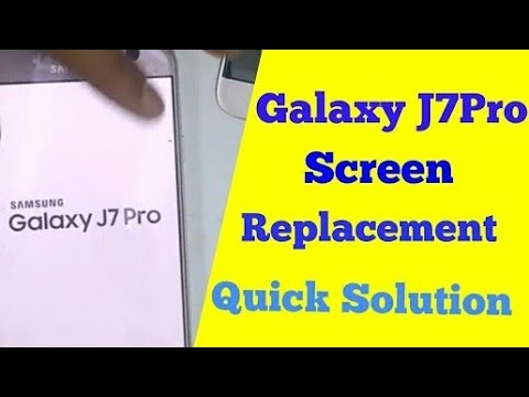 Galaxy J7 Pro  Super AMOLED Display Screen Replacement