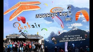 RC-Para Hanggliding: CEFICS Punkair Moosberg Cup 12-15 April 2018  mit WILCO / CROSSALPS Skyman ...