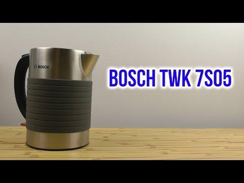 Распаковка BOSCH TWK-7S05