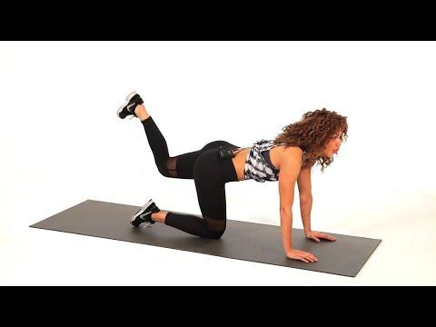 How to Do a Bent Knee Glute Kickback | Sexy Butt
