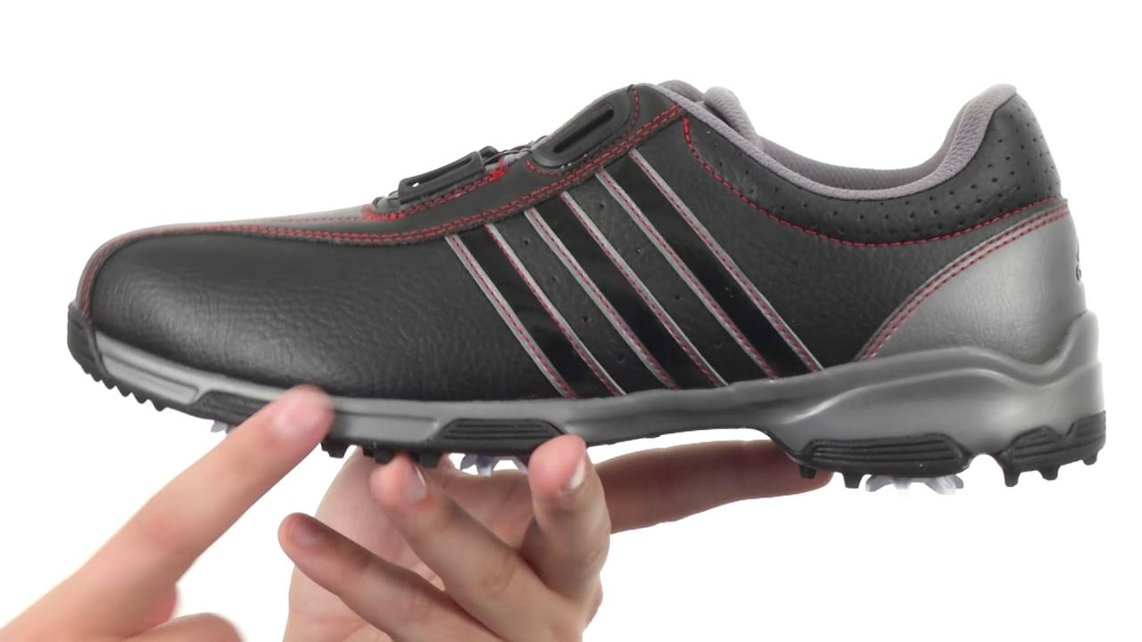 6c0ceaaf07bd48 adidas Golf 360 Traxion Boa SKU 8658360 - YouTube