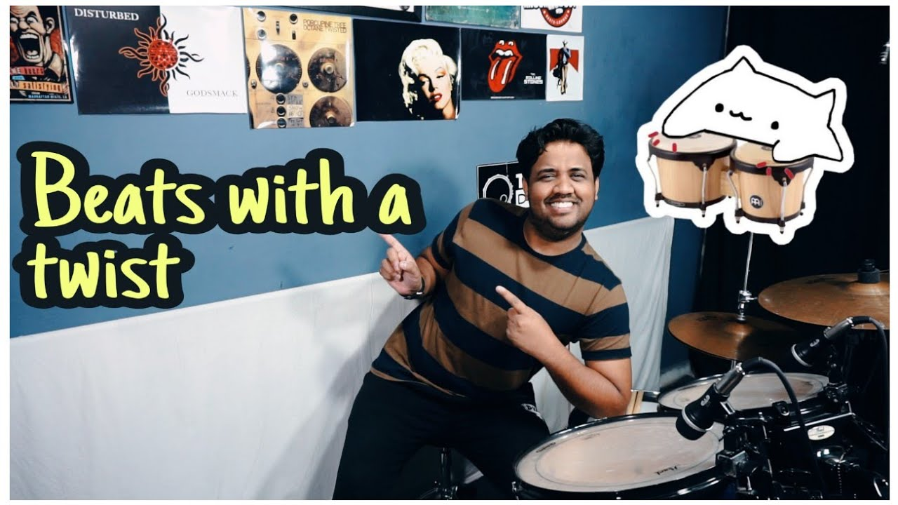 Easy but Complicated Beat Part (1) Drum Lesson by Tarun Donny
