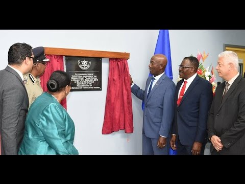 Prime Minister Rowley's remarks at the Besson Street Police Station Handover Ceremony