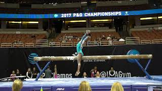 Video Deiah-Marie Moody - Balance Beam - 2017 P&G Championships - Junior Women - Day 1 download MP3, 3GP, MP4, WEBM, AVI, FLV Agustus 2017