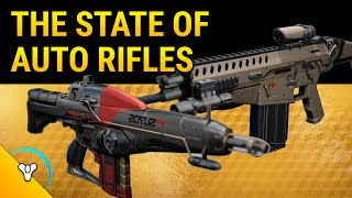 Destiny Taken King: The State of Auto Rifles