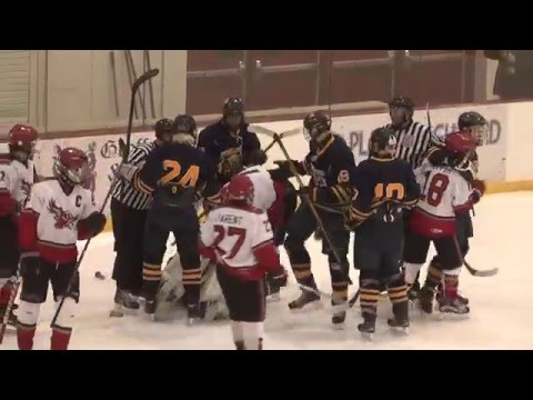 Beekmantown - Lake Placid Hockey  3-1-16