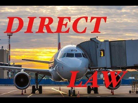 Тренажёр  Airbus A-320. Полёты в Direct Law.