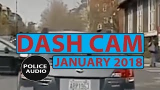 Dash Cam | POLICE CHASE | January 1, 2018