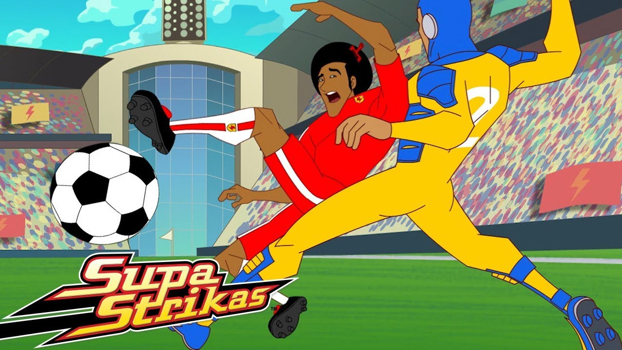 Download Supa Strikas - Season 1 - Episode 2 - Cool Joe Loses His Groove   Soccer Kids Cartoon