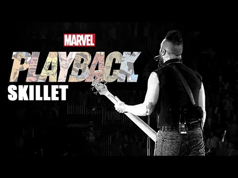 "Skillet Rocks Marvel Comics | ""Marvel's Playback"" Ep. 2"