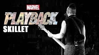 "Skillet Rocks Marvel Comics | ""Marvel's Playback"" Ep. 2"