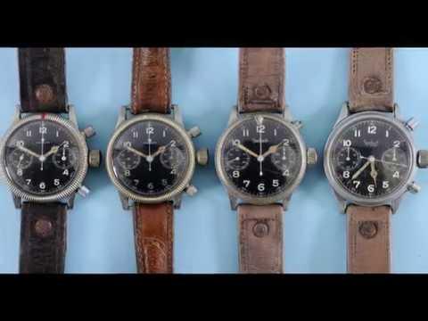 A Wristwatch Story - Hamilton To Hanhart WWII-Present