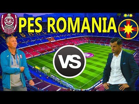 Super Derby De Romania - Dan Petrescu vs Nicolae Dica - PES 2018 Romania Cariera Cu Steaua