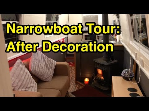 Canal Boat Tour: After Decoration
