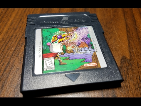 Classic Game Room - POCKET BOMBERMAN review for Game Boy