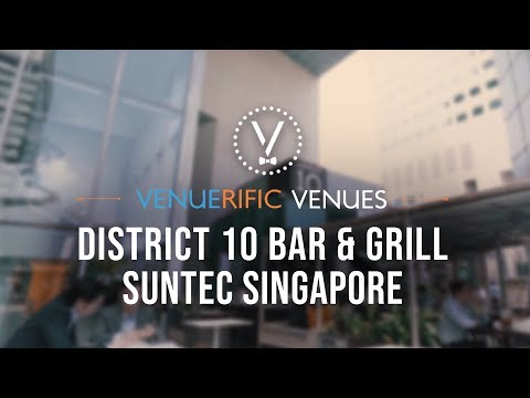DISTRICT 10 Bar & Grill, expert on dry-aged meat - Suntec, Singapore
