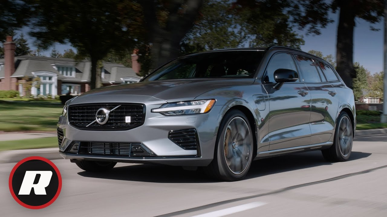 2020 Volvo V60 Polestar Review A Sporty Wagon With An Electric Twist Youtube