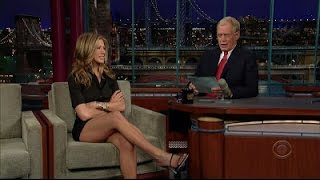 Jennifer Aniston on David Letterman Most Hilarious Interview