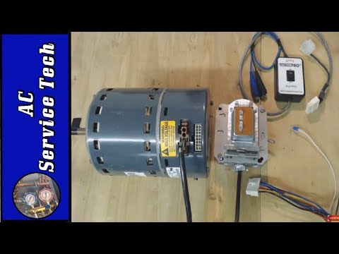 Testing ECM Variable Speed Fan Motor, Make Your Own Tester!