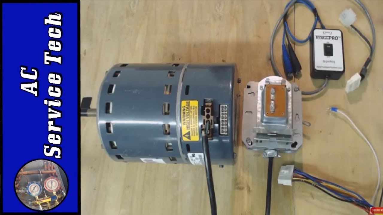 Testing ECM Variable Speed Fan Motor, Make Your Own Tester!  YouTube