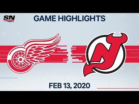 NHL Highlights | Red Wings Vs Devils – Feb. 13, 2020