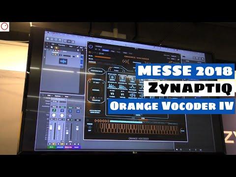 MESSE 2018: Zynaptiq Orange Vocoder IV - The Vocoder For Cher Music Lovers   SYNTH ANATOMY
