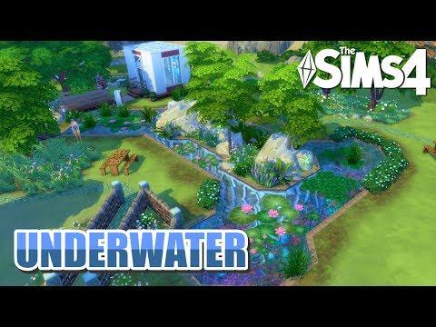 ¡Vive bajo el agua como nunca antes! | Los Sims 4 Speed Build