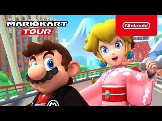 Mario Kart Tour - Tokyo Tour Trailer