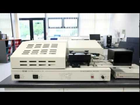 CE440 Video Elemental Analyser