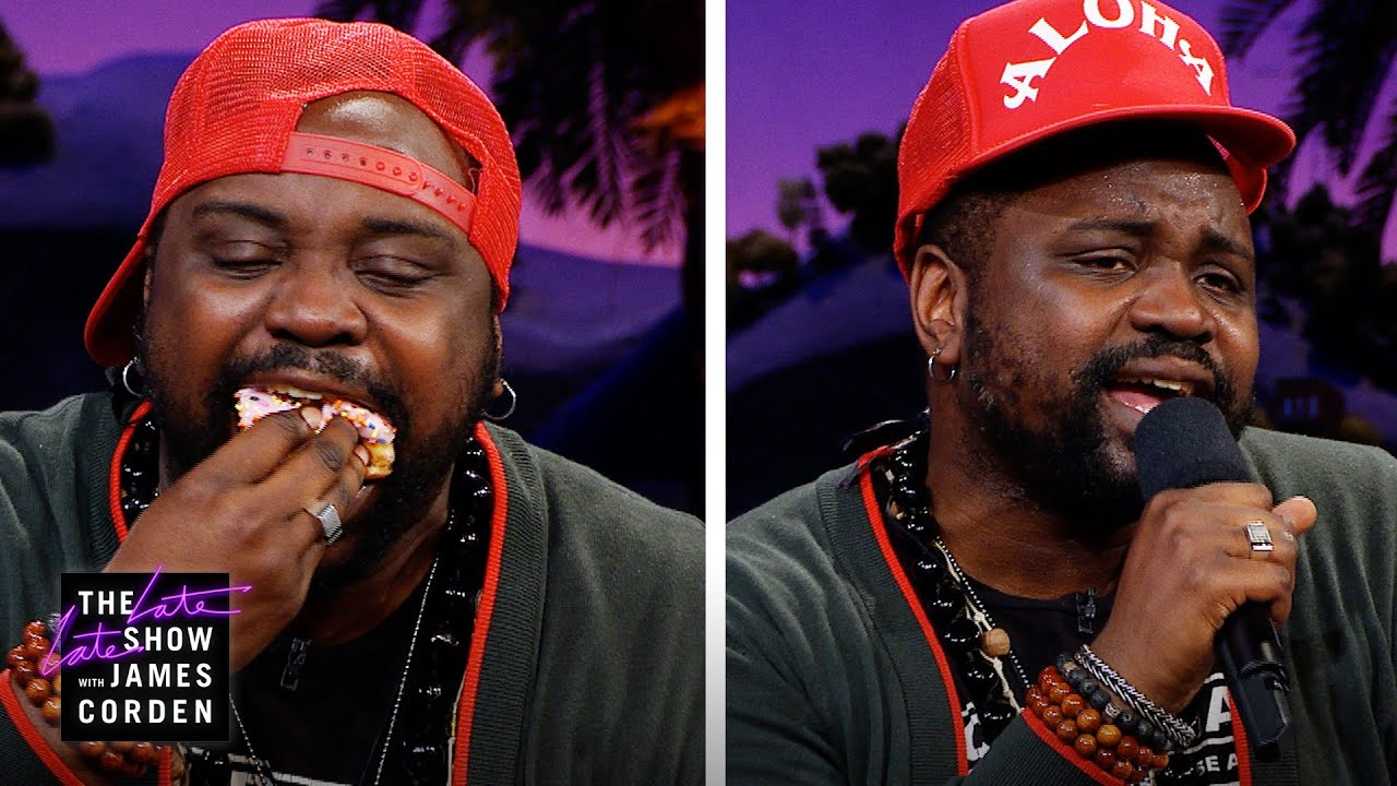 Brian Tyree Henry Crushes a Double Dutch & Doughnut