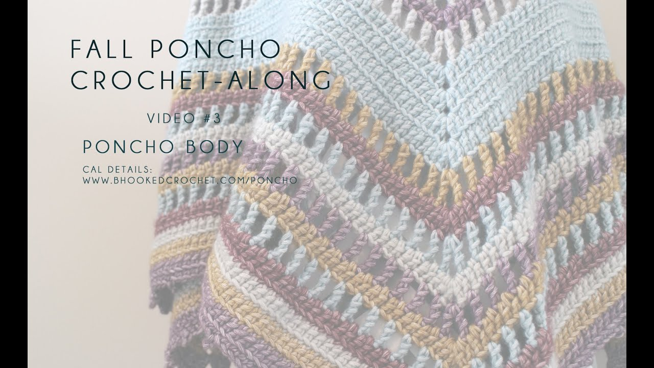 Fall Poncho CAL Poncho Body Left Hand Video 3 - YouTube
