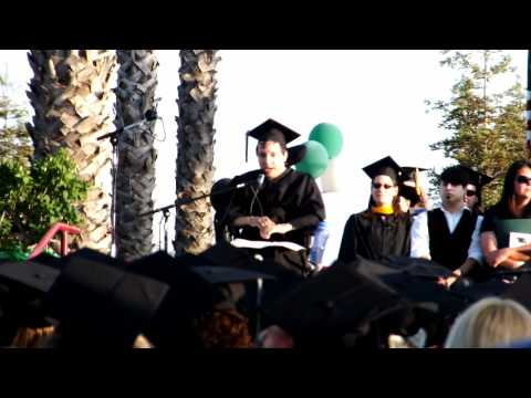 A True Form of Inspiration- Woodland Community College AS Graduation 2012 Student Speaker